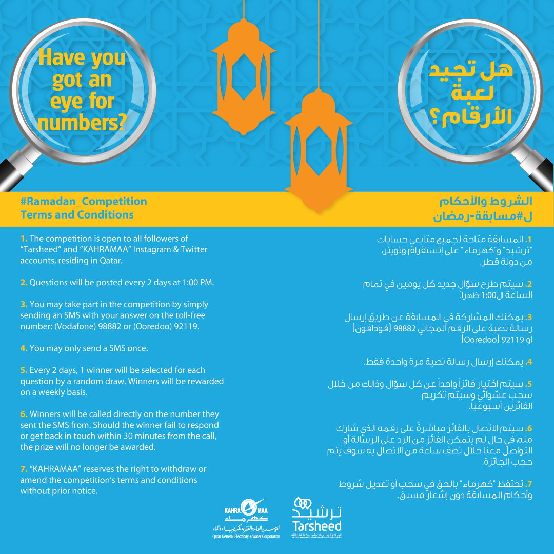 Kahramaa launches Ramadan competition [qatarisbooming.com].jpg