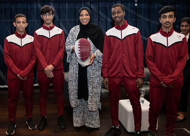 QF welcomes US Olympic fencer 2 [qatarisbooming.com].jpg