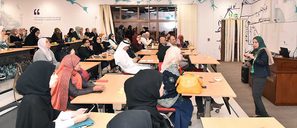 QU hosts workshop to illuminate 3 [qatarisbooming.com].jpg